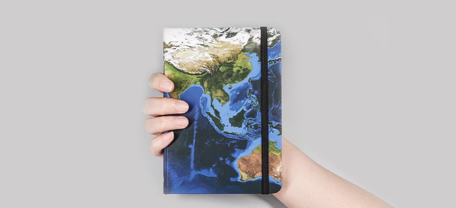 Earth AR Notebook